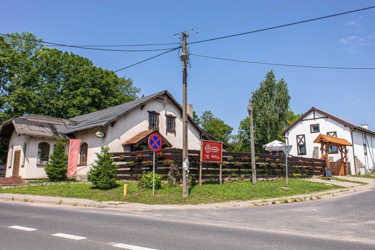 Gospoda Warmińska w Butrynach:  kotłownia na pellet, instalacja grzejnikowa, instalacje wod-kan