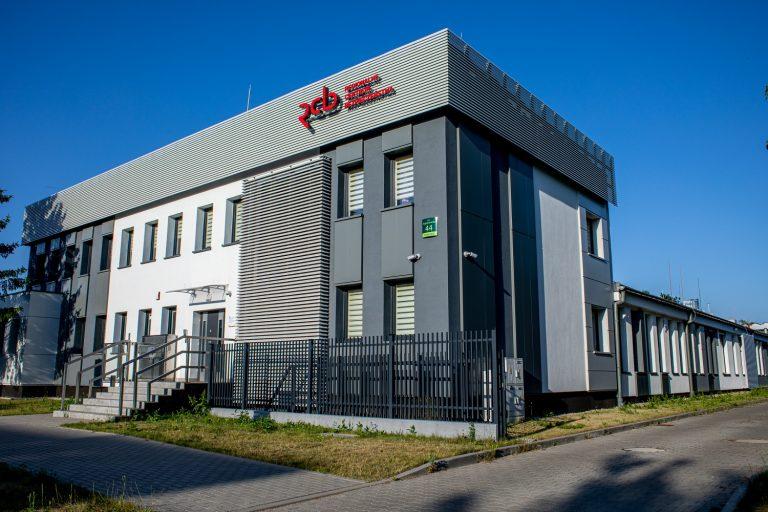 Regionalne Centrum Bezpieczeństwa w Olsztynie: instalacje grzewcze i wod-kan