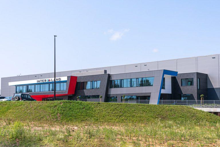 Centrum Logistyczne INTER LAND w Stawigudzie: kotłownia gazowa, instalacja grzejnikowa, instalacje wod-kan