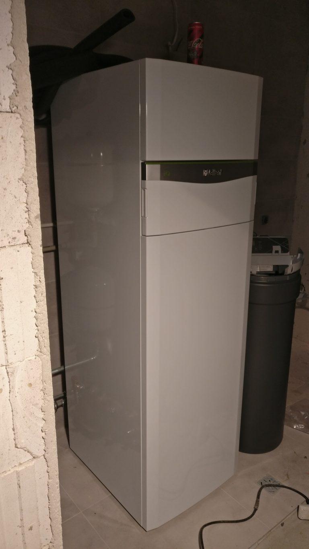 Budynek mieszkalny w Rusi: gruntowa pompa ciepła, ogrzewanie podłogowe, rekuperacja, instalacje wod-kan