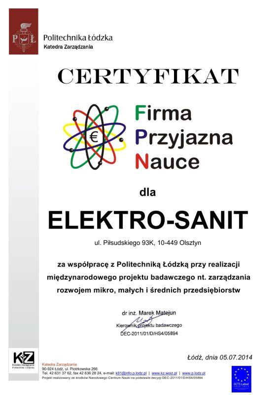 2014_elektro-sanit_-_firma_przyjazna_nauce